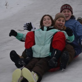 Sliding Siblings – January Photo of theMonth