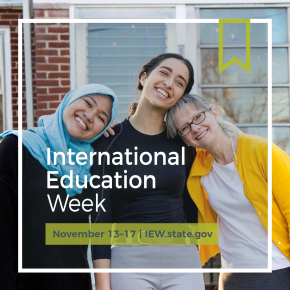 International Education Week Scavenger Hunt 2017