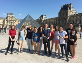 Summer 2017 in Paris, France