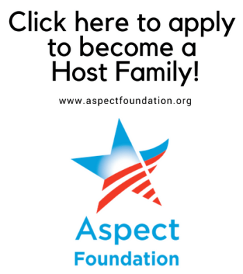 Host Family Button to Link