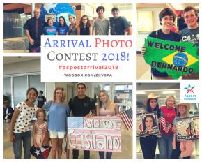 Arrival Photo Contest2018!