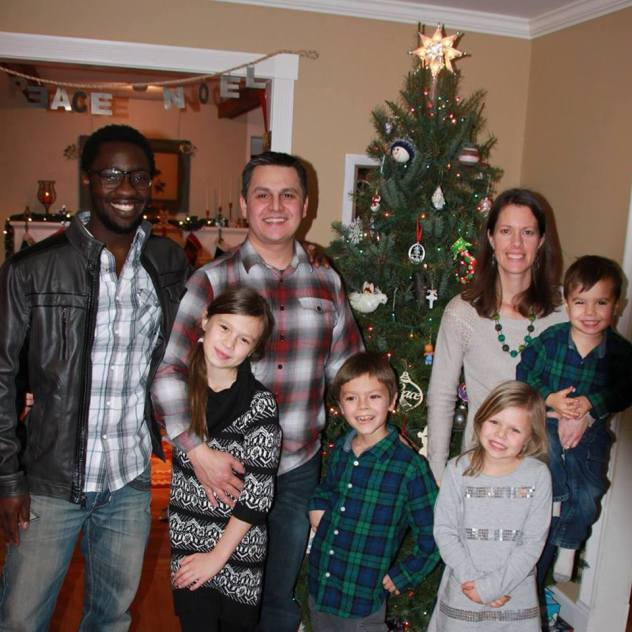 ibro and host family